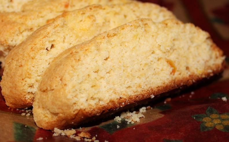 Italian Lemon Polenta Biscotti Cookies | What's Cookin ...