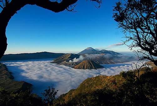 Keindahan Gunung Semeru Indonesia