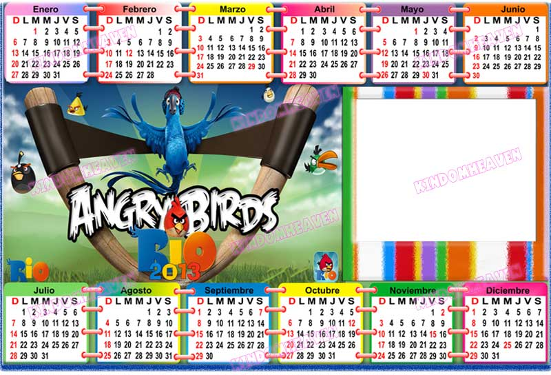 calendarios psd 2013