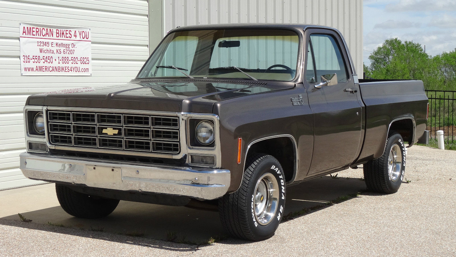 all american classic cars 1979 chevrolet c 10 custom deluxe pickup truck. Black Bedroom Furniture Sets. Home Design Ideas