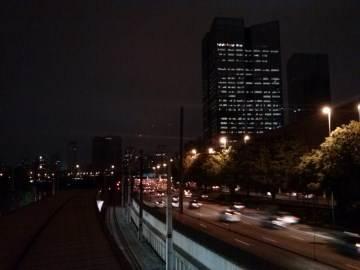Foto noturna feita com o LG Optimus L7