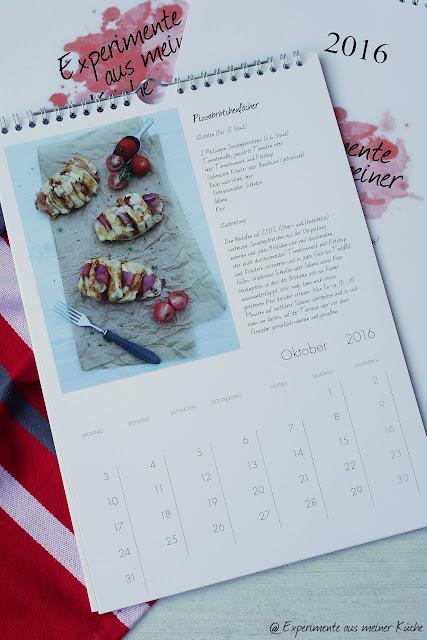 Experimente aus meiner Küche: Pixum Wandkalender