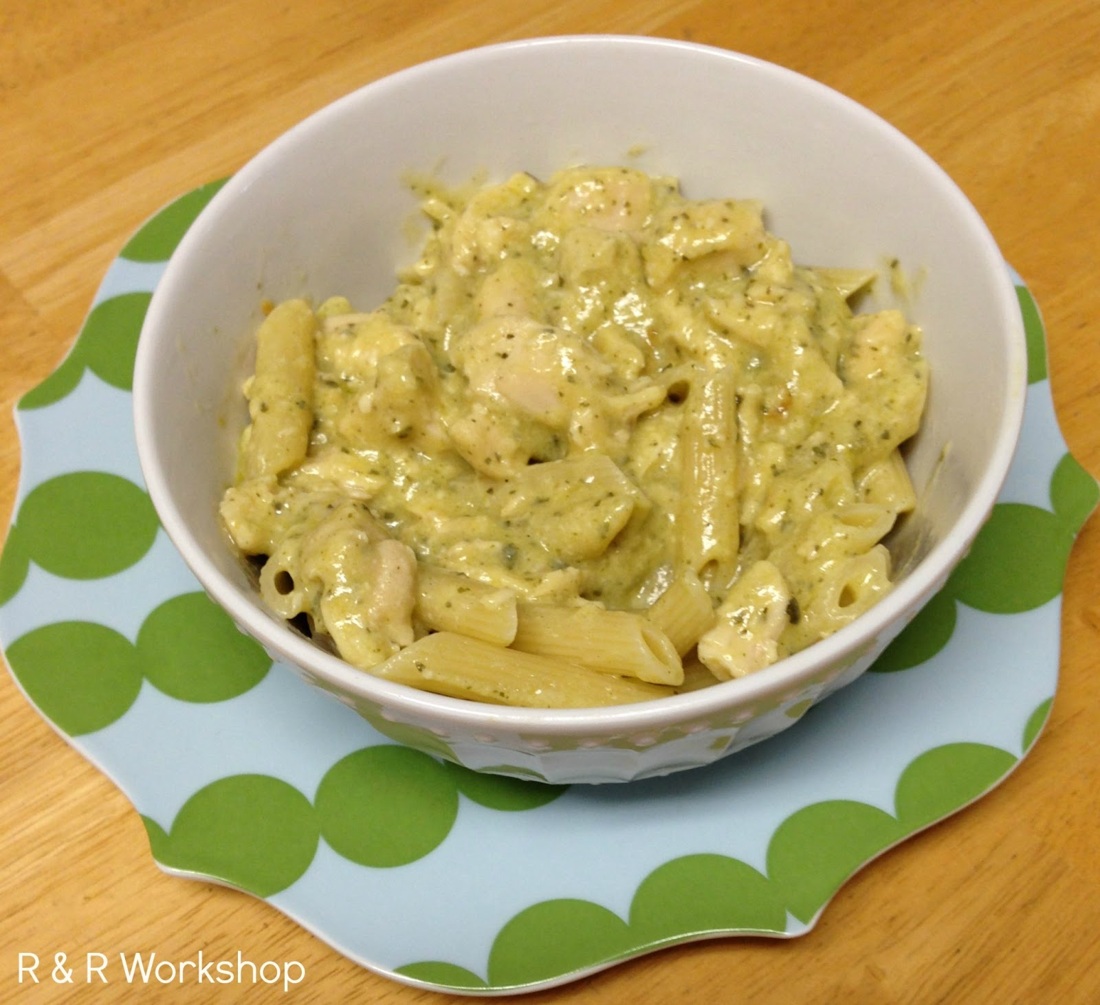 Pesto Chicken Pasta Recipe — Dishmaps