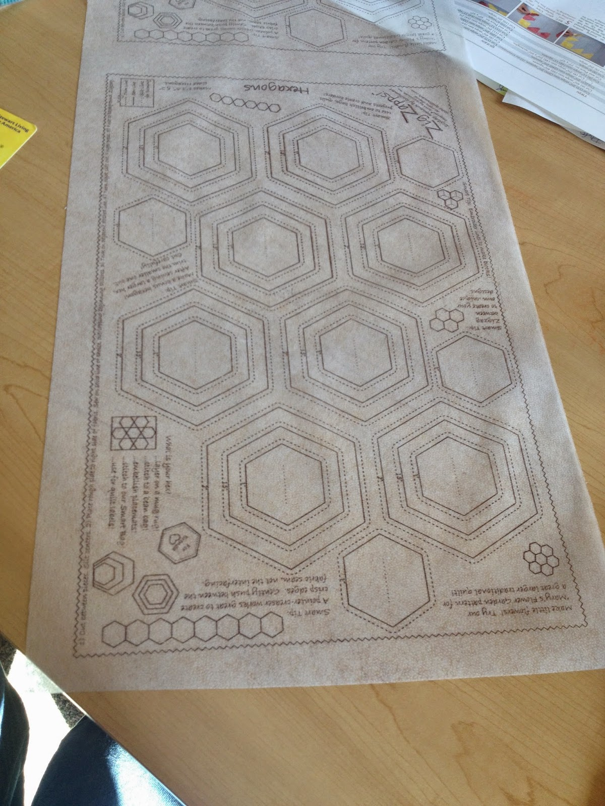 Quiltsmart ZigZapps! Hexagons