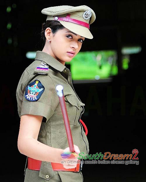Bhavana In Hot Police Dress | Curse Of Universe