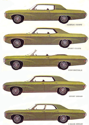 1969 Chevy Impala 4 Door