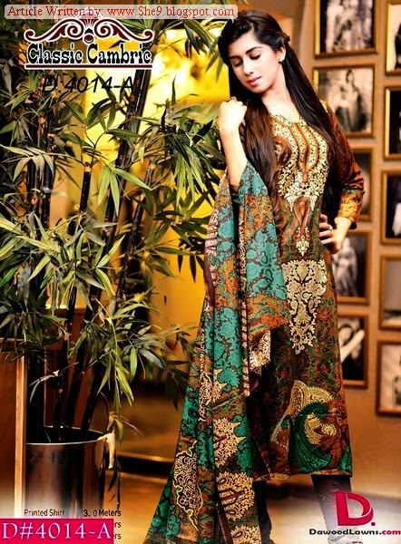 Dawood Classic Cambric Dress Designs
