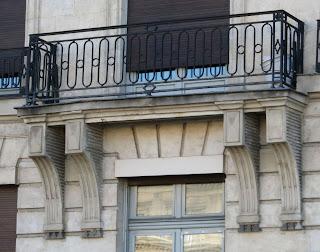 Balcon du 37 quai des Grands-Augustins à Paris