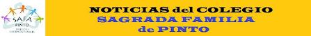 Noticias del Colegio Sagrada Familia de Pinto
