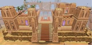 Runescape MMORPG game review picture of runescape 3 al kharid palace