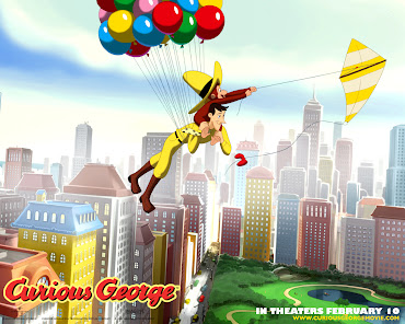 #5 Curious George Wallpaper