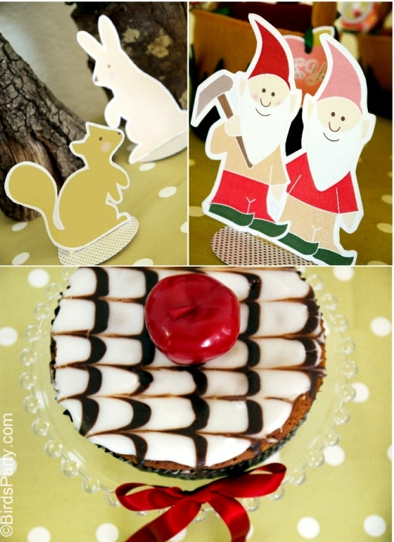 Snow White Inspired Birthday Party Ideas Printables