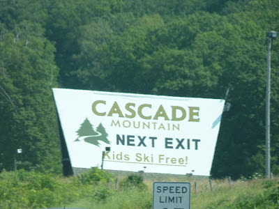 Cascade Mountain skiing 