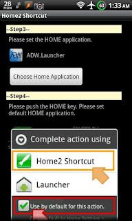 Home2 Shortcut apk
