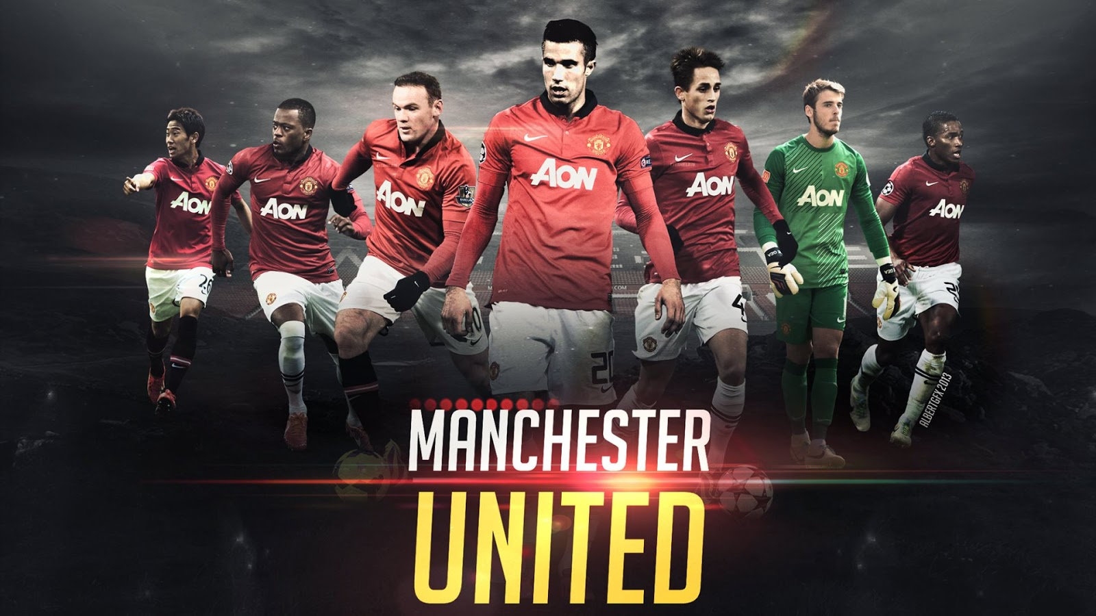 manchester united football club group latest hd wallpaper