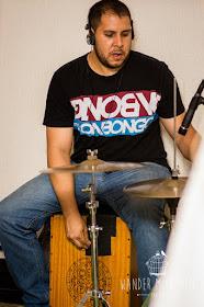percussão, gaita e flauta