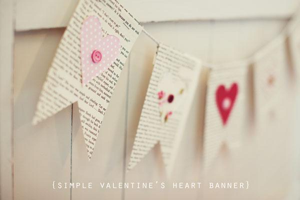 Valentine Banner Diy