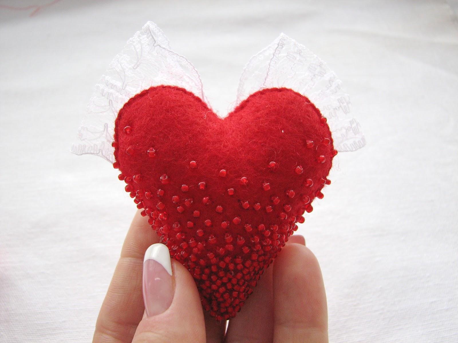 Валентинка своими руками сердце в руках