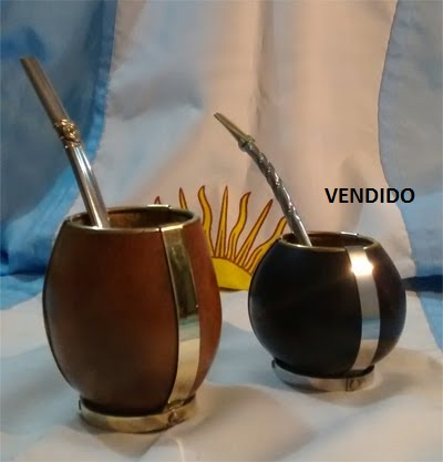 Mate Calabaza con base - S/ 60.00