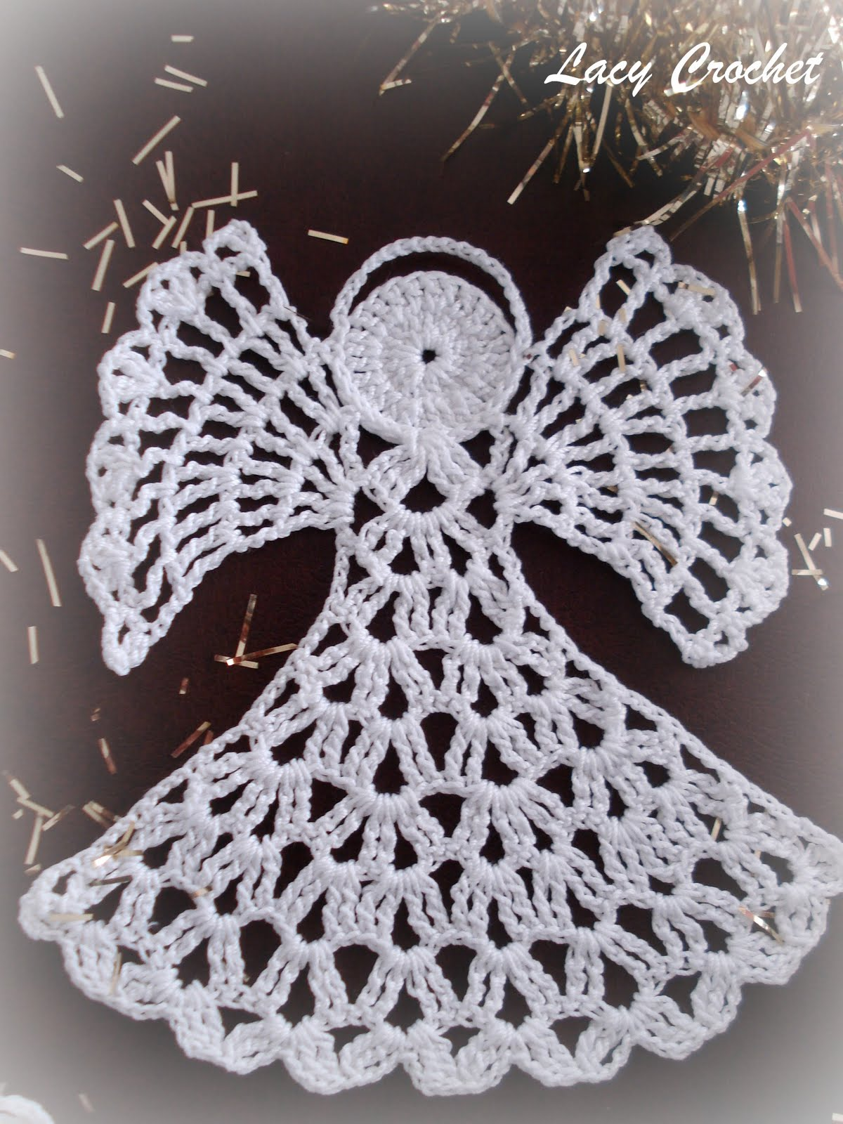 Crochet Patterns Free Angel : Lacy Crochet: November 2011