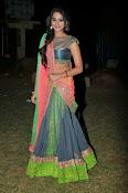 Manasa Glamorous Photos in Half saree-thumbnail-18