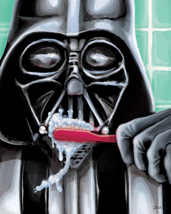 Darth Vader Ilustración