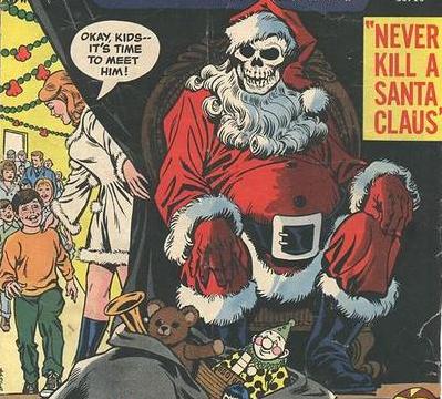 Pissed off santa