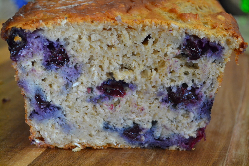Cookin' Cowgirl: Blueberry Oatmeal Bread