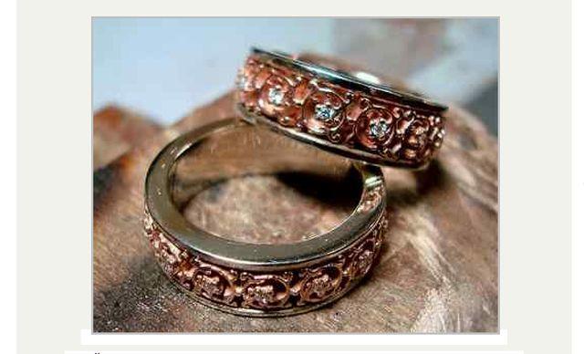 Золотые кольца от компании Бомонд