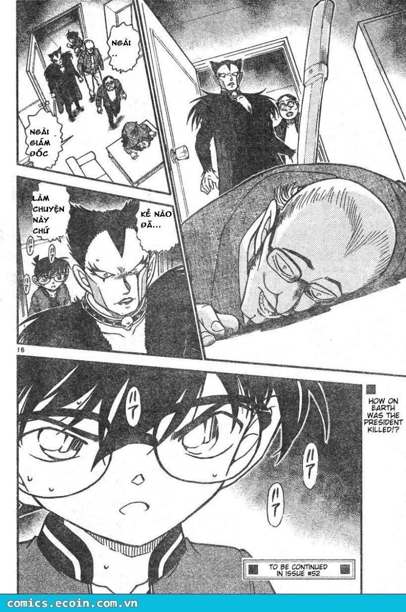 Detective Conan - Thám Tử Lừng Danh Conan chap 591 page 16 - IZTruyenTranh.com