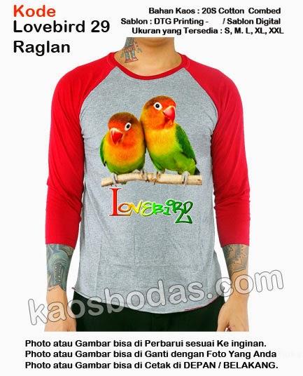 Kaos Lovebird 29 - raglan