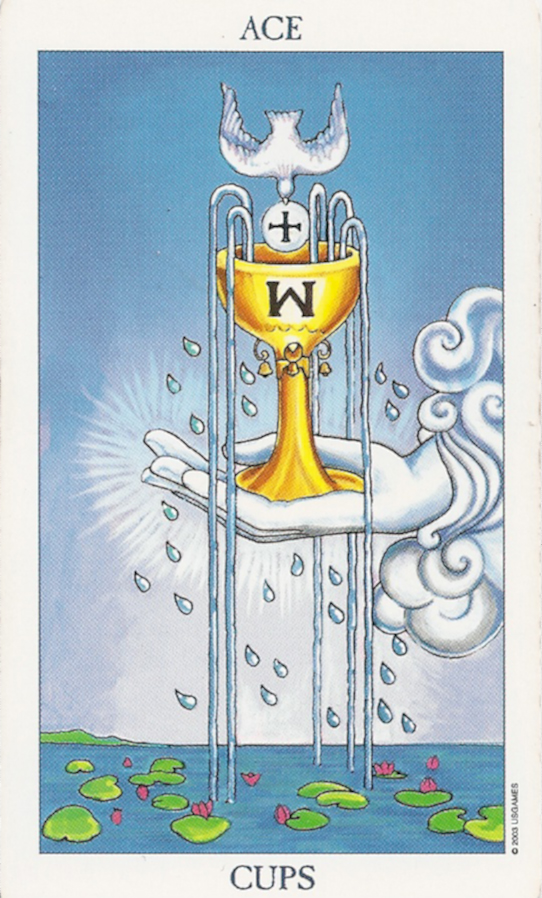 Ace Of Cups Primal Emotions Kundalini Surge