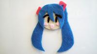 Hatsune Miku Magnet with Bubs B4Astudios