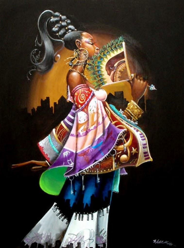 cuadros-modernos-con-mujeres-negras