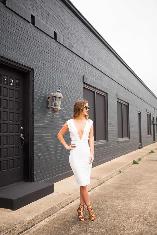solace london white dress