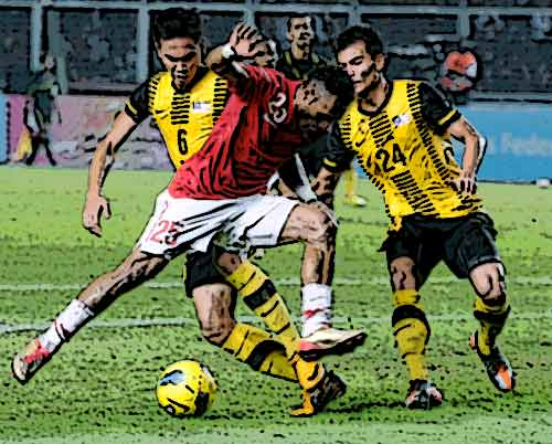 Puass... puass...!! Indonesia diganyang Malaysia! (Bola SEA Games)