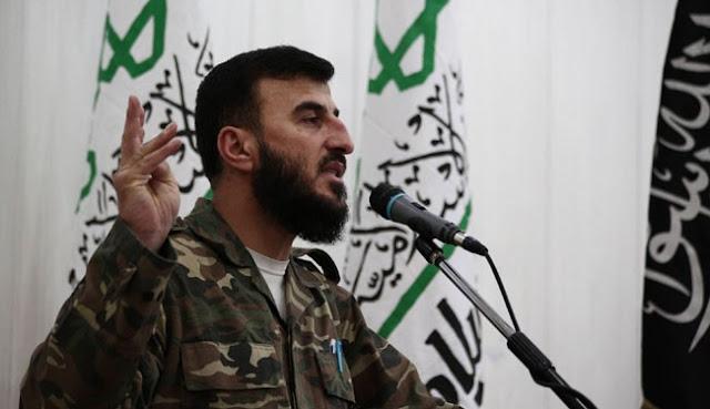 Zahran Aloush, foi morto