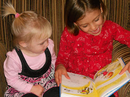 Cousins Sharing a Book