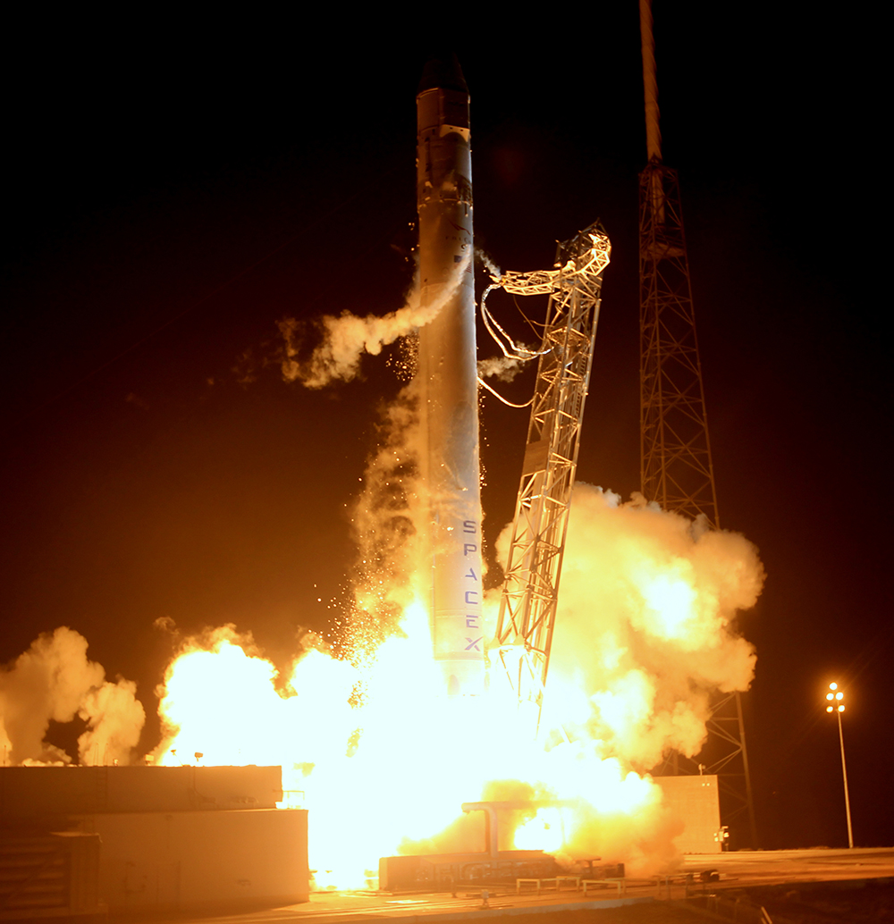 dragon spacex texas launch - photo #1