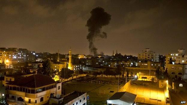 Νύχτα κόλασης από βομβαρδισμούς στα Παλαιστινιακά εδάφη. Χερσαία επίθεση στη Γάζα ετοιμάζει το Ισραήλ