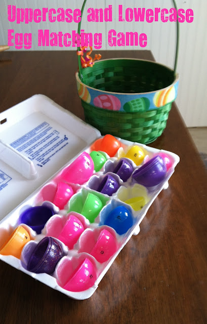 http://readysetread2me.blogspot.com, easter, easter eggs, early literacy, letter games, learning letters