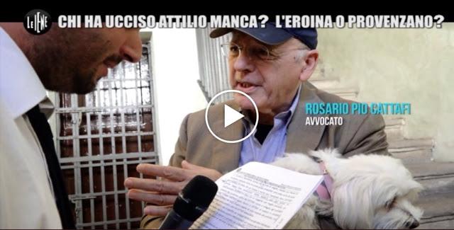 VIDEO :Chi ha ucciso Attilio Manca? L'eroina o Provenzano? Prima intervista assoluta a Saro Cattafi