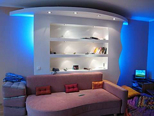 24 modern pop ceiling designs and wall pop design ideas for Living room designs pop
