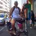 Como levar bebé em bicicleta dobrável de forma proativa. Ela brinca e se exercita enquanto eu pedalo!