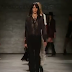 Guitar Stripes, Chiffon Dresses, Mixed Prints and Patti Smith in the Rebecca Minkoff Fall 2015 Collection