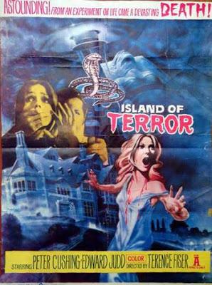 ISLAND OF TERROR - A ILHA DO TERROR - 1966