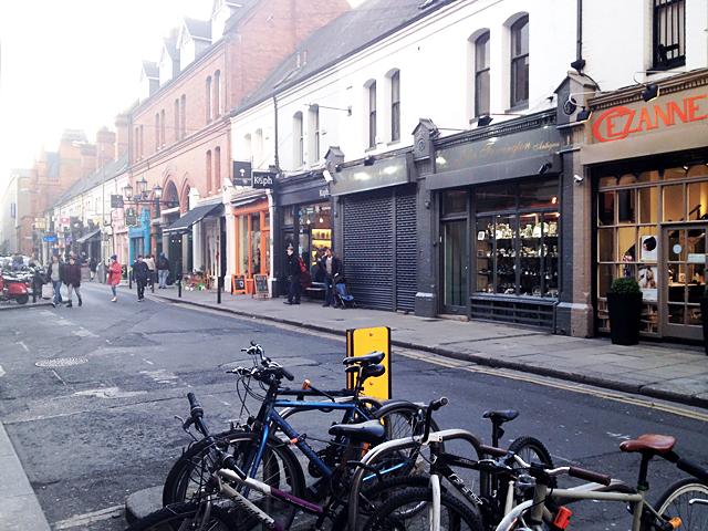 Stereotype streets, dublin, ireland