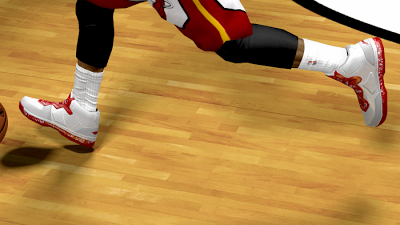 NBA 2K13 Li-Ning Way of Wade White/Red Shoes