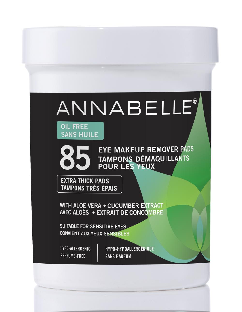 Annabelle Tampons démaquillants pour les yeux sans huile