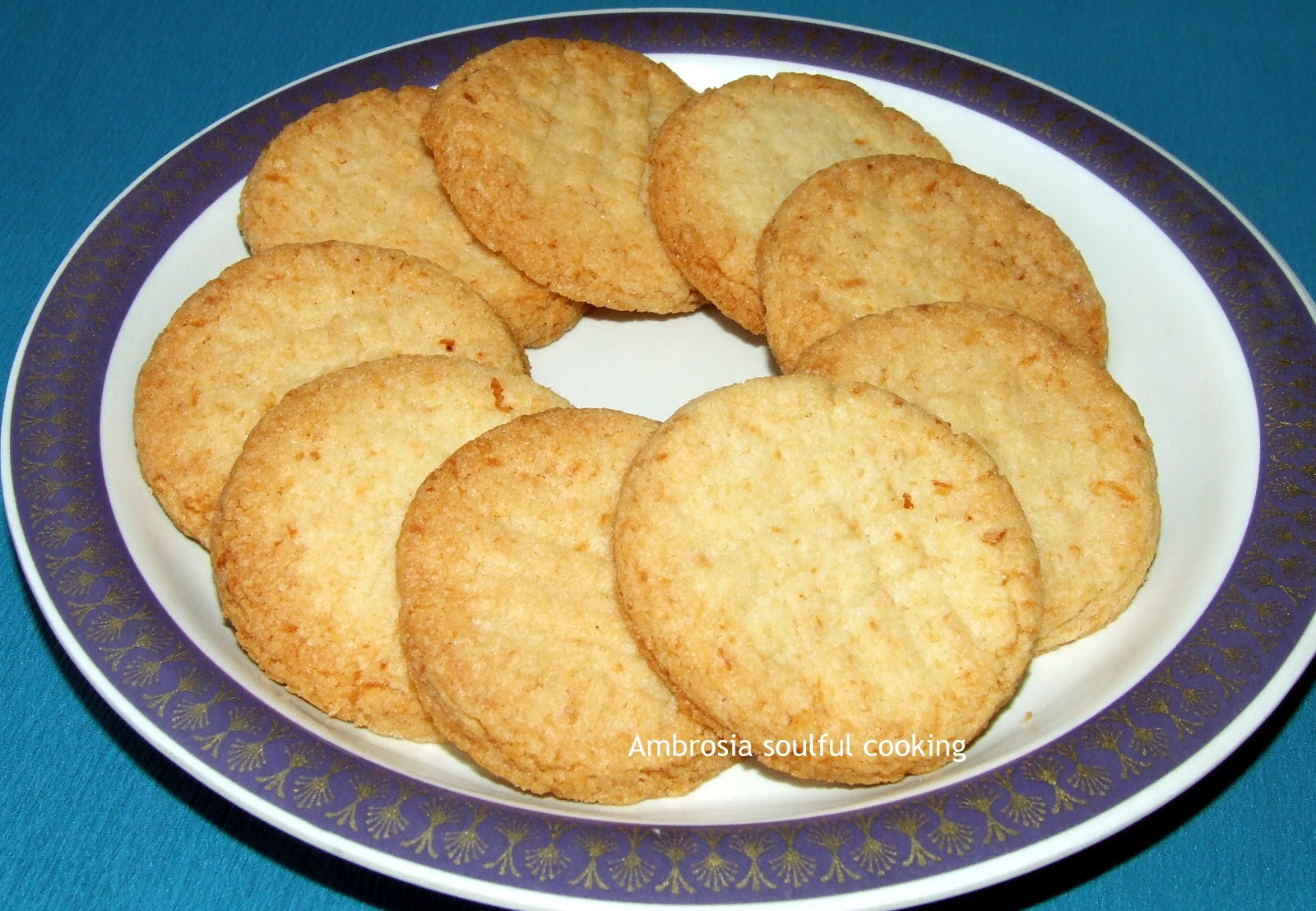 Coconut Biscuits Recipe — Dishmaps